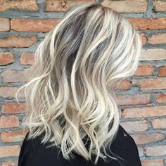 Blonde Pérola #Blonde #Hair #highlights #mechas #romeufelipe #medio #pérola