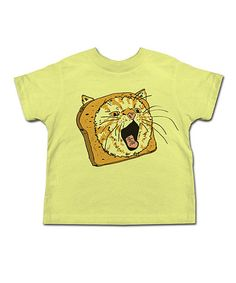 Another great find on #zulily! Banana Cat In Bread Tee - Toddler & Kids #zulilyfinds