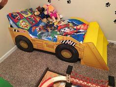 Tonka Bed For A Paw Patrol Room Paw Patrol Bedroom Paw Patrol