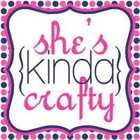 she's {kinda}crafty blog