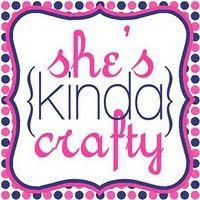 she's {kinda}crafty blog