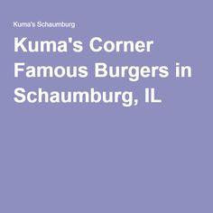 Kuma's Corner Famous Burgers in Schaumburg, IL