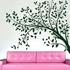 Wall Decals  Tree  Decal Vinyl Sticker Bathroom от CozyDecal