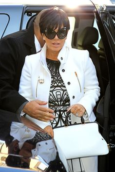 Kris Jenner Tom Ford Glasses - Kris Jenner 2015 Pictures-2