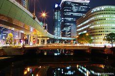 大阪 肥後橋 光 #Osaka #Japan #light osaka Japan light