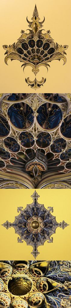 New Architecturally-Inspired Artworks Created From Layers of Laser-Cut Paper by Eric Standley