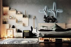 18 Brilliant Teenage Boys Room Designs Defined by Authenticity homesthetics (18)