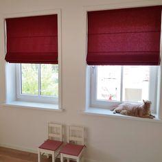 Raambekleding – ZoSan & Co Blog Roman Shades, Windows, Curtains, Blog, Home Decor, Blinds, Roman Blinds, Window, Interior Design