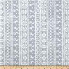 Winter Essentials II Knitted Sweater Grey