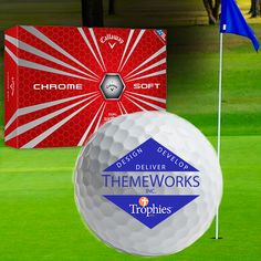 This is EPIC! Promote your brand with custom Calloway golf balls. To order, contact Liz at Liz@trophiesinc.com! #golf #golfer #Calloway #sports #summer #promotional #custom #businessideas #corporate gifts