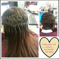 u can leave ur hair down or put it to da side :) perfect any event