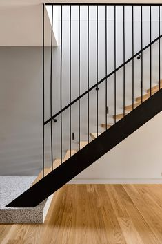 Brighton Residence II by Studio Tate and Tecture Project Gallery Stairs Design Brighton Gallery Project Residence Studio Tate Tecture Interior Stairs, Interior Architecture, Brighton Houses, Stair Railing Design, Balustrades, Brickwork, Open Plan Kitchen, Open Plan Living, Melbourne