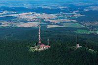Kleť - nejvyšší vrchol Blanského lesa (1084m)