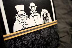 The Disney Wedding Blog: Haunted Mansion Wedding Invitations