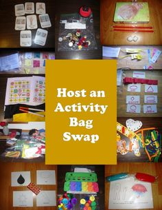 Prepare for Fall: Host an Activity Bag Swap This Summer - Upside Down Homeschooling