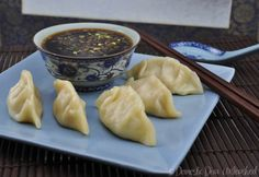 Domestic Diva: Failsafe Chinese Dumplings with dipping sauce