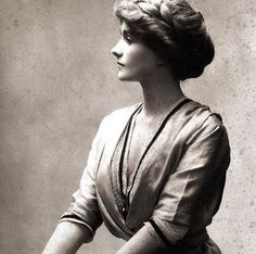Young Coco Chanel | This is a very old photograph of a very young Coco.