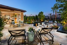 Toll Brothers - The Heights at Baker Ranch offers spacious backyards that allow you endless decorating and design possibilities for your new home.