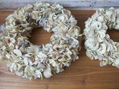 紫陽花のドライでリース作り の画像|FLEURI blog**ナチュラルアンティークなアクセサリー**