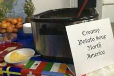 North America- Potato soup