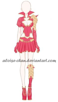 [OPEN] Valentines Day Armour Adoptable by Aloise-chan.deviantart.com on @DeviantArt | u2606ANIME ...