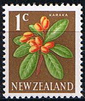 New Zealand 1967 SG 846 Flower Fine Mint SG846 Scott 383 Condition Fine LMM Only one post charge applied on multipule purchases Details Karaka flower