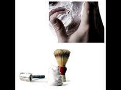 Espuma de afeitar casera