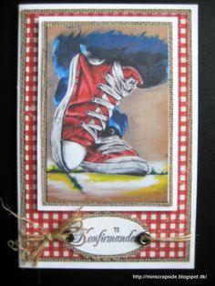konfirmation Boy Cards, Football Cards, Funny Cards, Masculine Cards, Big Shot, Scrapbooking, Cool Stuff, Card Ideas, Boys