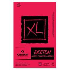 Canson Xl Watercolor Paper 9x12 140lb Pad 726259 Art Pad Mixed