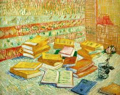 Vincent Van Gogh - The Parisian Novels Art Print. Explore our collection of Vincent Van Gogh fine art prints, giclees, posters and hand crafted canvas products Vincent Van Gogh, Art Van, Desenhos Van Gogh, Van Gogh Still Life, Van Gogh Arte, Van Gogh Pinturas, Painting Prints, Art Prints, Van Gogh Museum