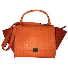 C¨¦LINE Beige Leather Handbag | Vestiaire Collective | Bolsas ...