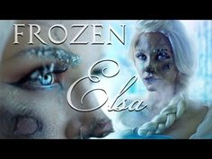 Frozen Frostbite Elsa Makeup Tutorial - YouTube