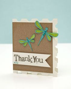 A link to instructions to make your own dragonfly shapes with the Cricut® Art Philosophy cartridge! #CTMH