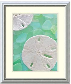 Kohl's ''Seaglass 5'' Framed Wall Art