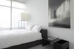 Magdalena Keck, black and white bedroom