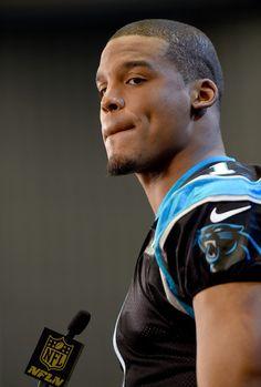 Cam Newton Photos Photos - Quarterback Cam Newton #1 of the Carolina Panther…