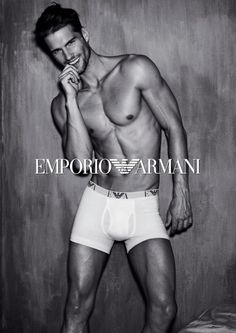 Emporio Armani Men Underwear Fall 2012 ad campaign photo