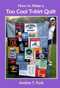 Will make a t-shirt quilt for my kids when they go off to college.  Teens acquire many t-shirts from mission trips, concerts, athletic by ly...