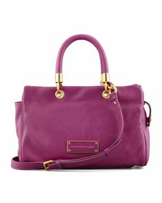 MARC by Marc Jacobs | Too Hot To Handle Small Flap-Top Bag, Magenta - CUSP