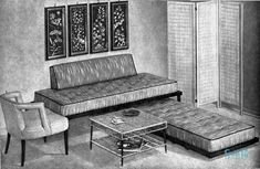 Look at this room! Spiegel Catalog home fashions, 1957