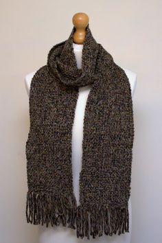 Handwoven Scarf by TheQuiltedWeaver on Etsy