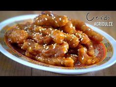"Cerdo agridulce auténtica comida china ""Tang Cu Li Ji"" - YouTube Food Dishes, Main Dishes, China Food, Asian Recipes, Ethnic Recipes, Peruvian Recipes, Sweet Sauce, Food Decoration, Fun Cooking"