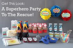 Get This Look: A Superhero Party To The Rescue! -Beau-coup Blog
