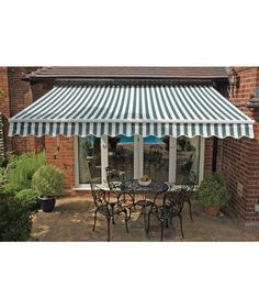 Buy Greenhurst Henley Garden Awning - 3.5m at Argos.co.uk - Your Online Shop for Gazebos, marquees and awnings.