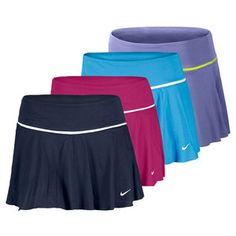 Nike Women's Shared Athlete Knit Tennis Skirt. - Anyone up for a game of tennis? I need an excuse to buy one of these!