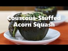 Fall in love with this ultra-filling, winter-centric vegetarian recipe that stuffs spinach, couscous, and walnuts into acorn squash in this recipe from the Simple Cooking with Heart program.