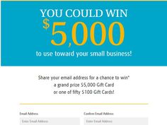 Enter The UPS Store Sweepstakes for a chance to win a $5,000 VISA Gift Card!