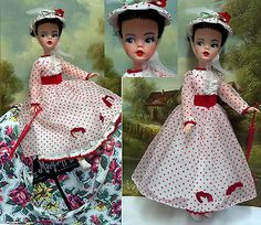 Vintage Tammy as Mary-Poppins with Original Carpet Bag case, c. 1964. Reliable Canada maker. Sold 6/2014 $500