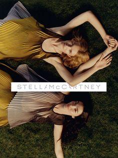 Natalia Vodianova & Mariacarla Boscono by Harley Weir for Stella McCartney Spring/Summer 2016 Campaign