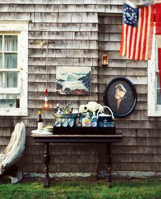 Sea faring bar | Nautical Summer Wedding | Event Decor | Hampton's